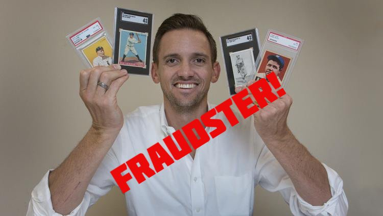 Pwcc Accused Of Fraud By Re Selling Trimmed Cards Of Gary Moser